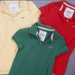 Hollister Set of 3 Large Collared Shirts
